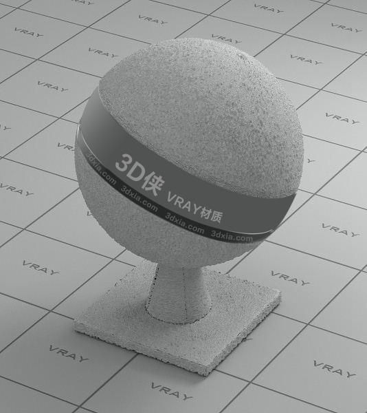 白色地毯Vray材质【ID:736524408】