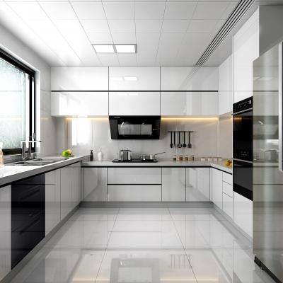 现代厨房3D模型【ID:128404476】