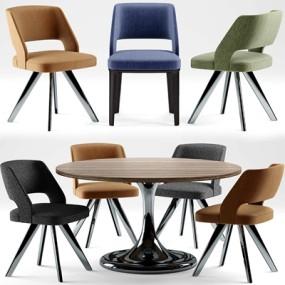 餐桌椅3D模型【ID:327897484】
