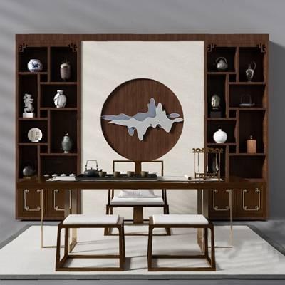 书柜3D模型【ID:920015570】