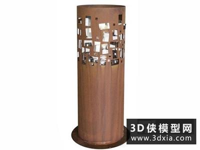 现代地灯国外3D模型【ID:929394296】