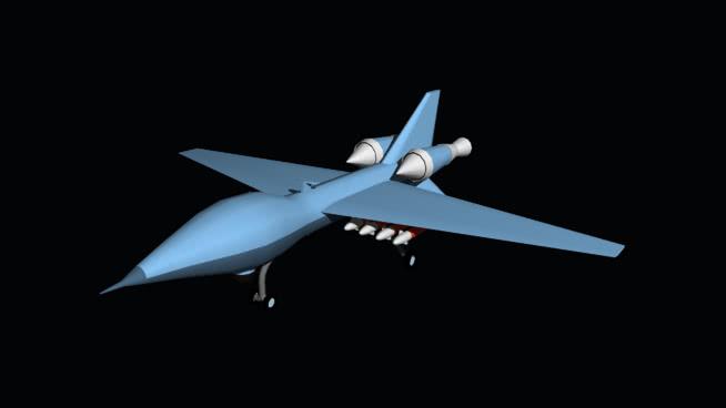 redhawk廬黑豹系列無人機SU模型【ID:940415508】