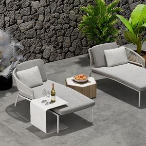 現代戶外躺椅沙發3D模型【ID:220808671】