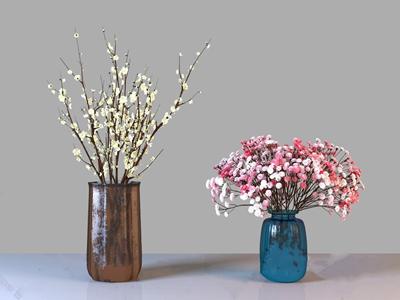 装饰花瓶3D模型【ID:320801523】