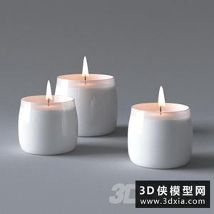 烛台国外3D模型【ID:929307889】