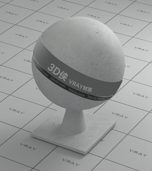 灰白色墙面Vray材质【ID:736526729】