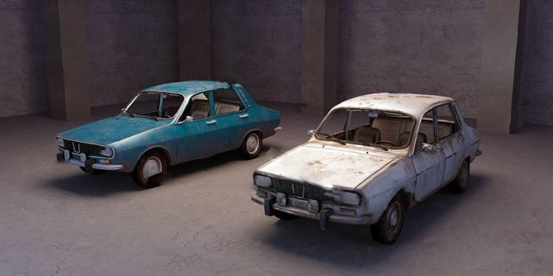车3D模型【ID:120027888】