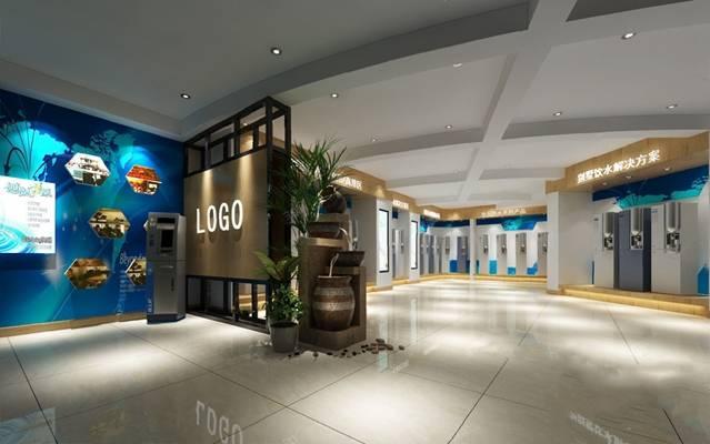 现代展厅3D模型【ID:320604653】