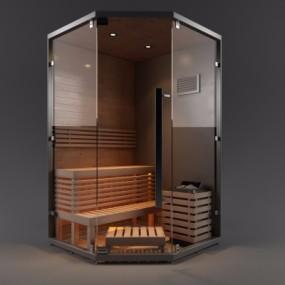 现代干蒸房3D模型【ID:228424520】