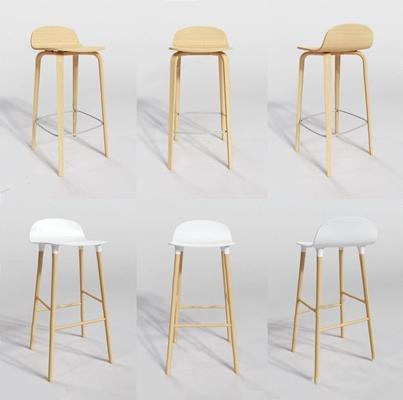 北�W吧椅�M合手印3D模型【ID:327925106】