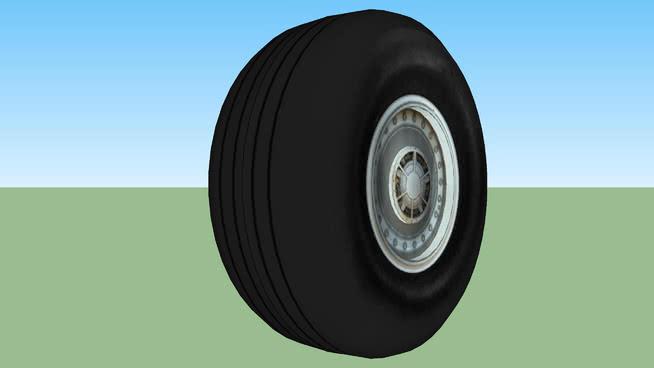 商用噴氣式輪胎SU模型【ID:840436505】
