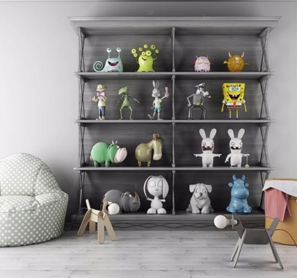 兒童玩具3D模型【ID:828134000】