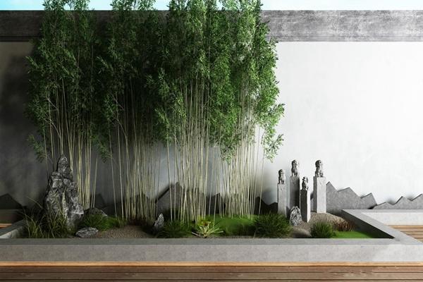 庭院景观3D模型【ID:828322460】