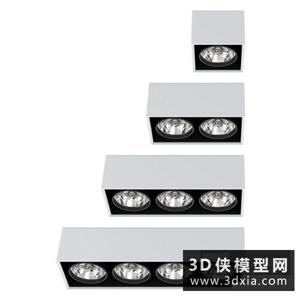 射燈國外3D模型【ID:929817165】