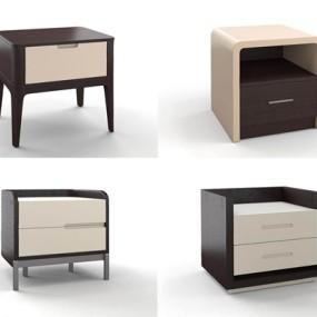 HC28现代新中式床头柜3D模型【ID:928188627】