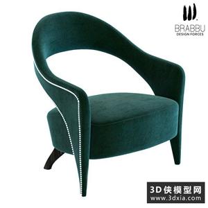 現代扶手椅國外3D模型【ID:729307818】