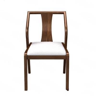 中式餐椅3D模型【ID:320604656】