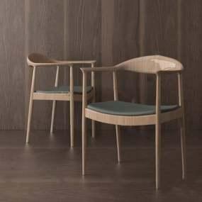 现代餐椅下载3D模型【ID:319459069】
