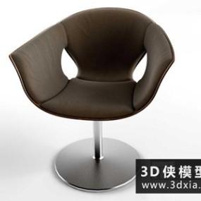 现代休闲椅国外3D模型【ID:729699856】