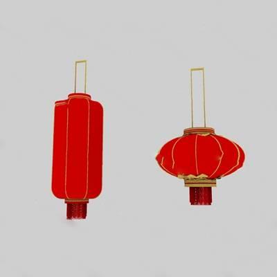 中式灯笼3D模型下载【ID:419483976】