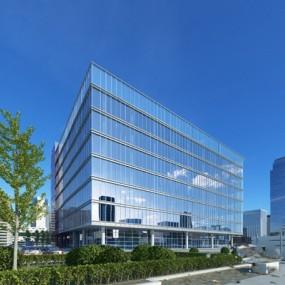 现代办公楼3D模型【ID:226231840】