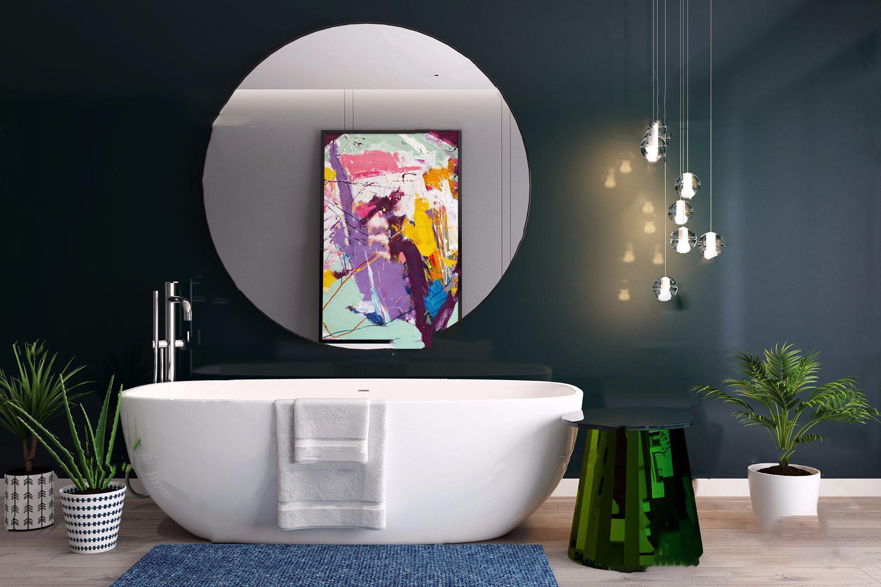 现代浴缸3D模型【ID:645289470】