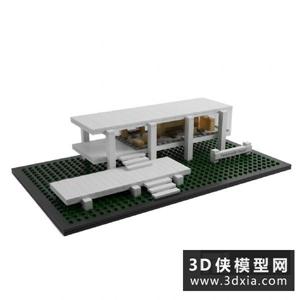 乐高玩具国外3D模型【ID:129770902】