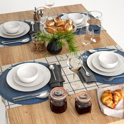 現在餐具3D模型【ID:928560364】