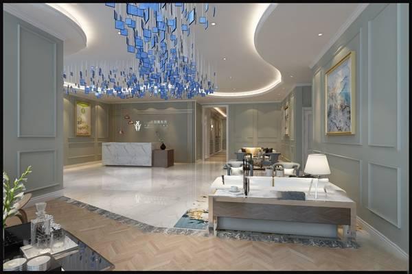 现代大厅3D模型【ID:419645207】