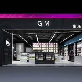 现代化妆品店3D模型【ID:224883893】