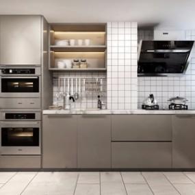 北欧厨房 3D模型【ID:541633320】
