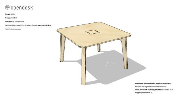 熱桌SU模型【ID:840469495】