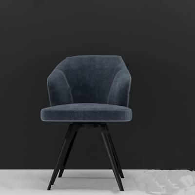 现代休闲椅3D模型下载【ID:219460409】