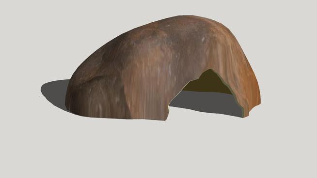 仿石爬行動物皮SU模型【ID:740472504】