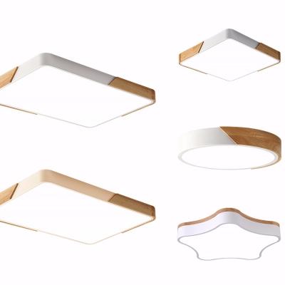 現代吸頂燈組合3D模型【ID:628458022】