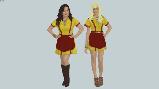 WaitressesSU模型【ID:539254435】