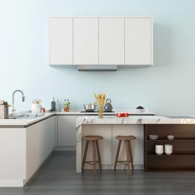 现代简约厨柜3D模型【ID:728468395】