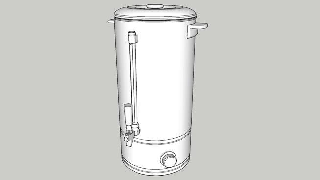 热水器或棒式锅炉SU模型【ID:539256419】