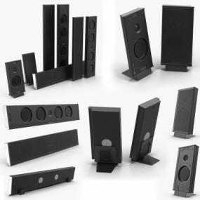 现代音响设备3D模型【ID:328440192】
