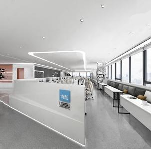 现代办公室3D模型【ID:936236129】