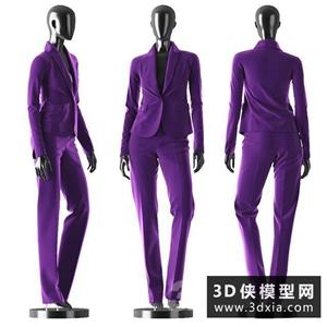 女裝模特國外3D模型【ID:929320649】