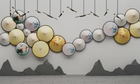 新中式吊燈掛件3D模型【ID:227779252】