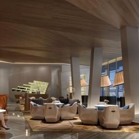 现代餐厅3D模型【ID:528025599】