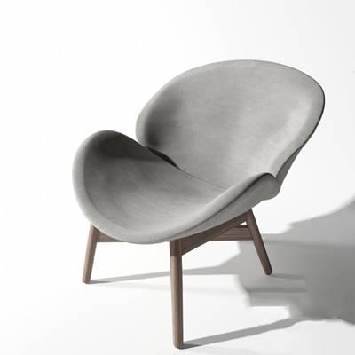 北欧休闲椅3D模型【ID:220615488】