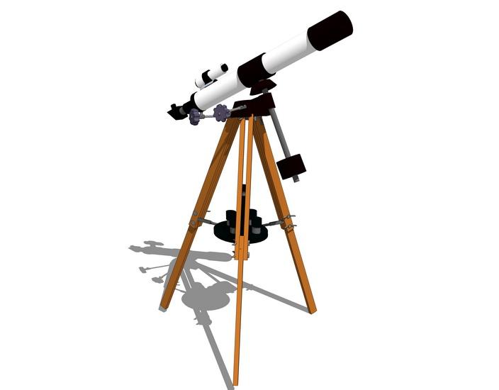 天文望远镜SU模型【ID:737111111】