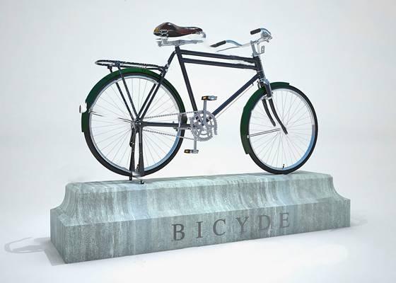 现代自行车下载3D模型【ID:919602193】