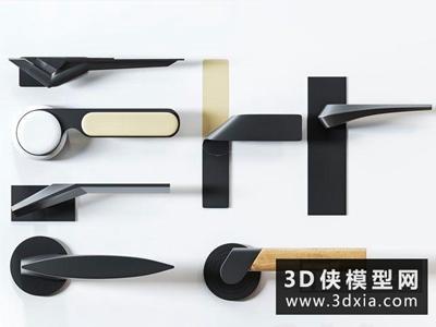门拉手国外3D模型【ID:929360649】