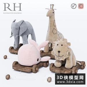 錢布拉玩具國外3D模型【ID:929329823】