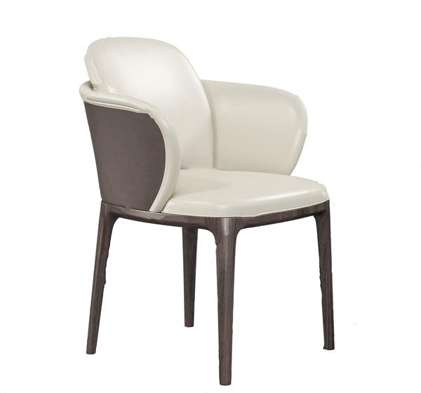 現代皮革單椅3D模型【ID:748243092】