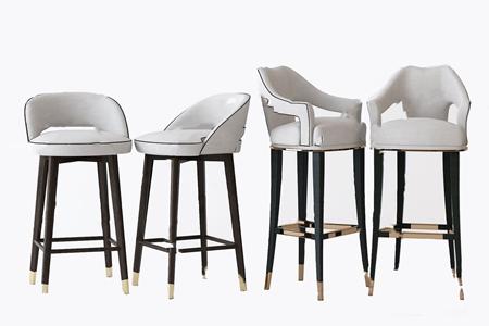 北�W吧椅3D模型【ID:941631250】